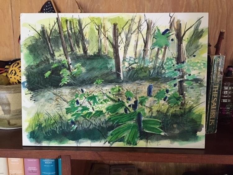 Missing westcliffe - watercolor - bjehle   ello