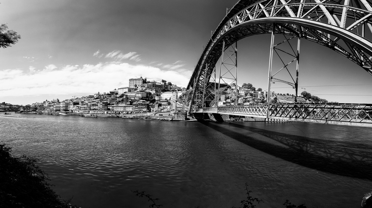 porto, bridge, dive, summer, portugal - dfcf | ello