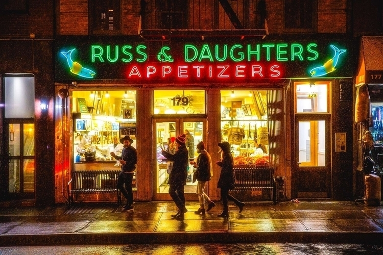 Russ Daughers, East Side, NYC  - fjgaylor | ello