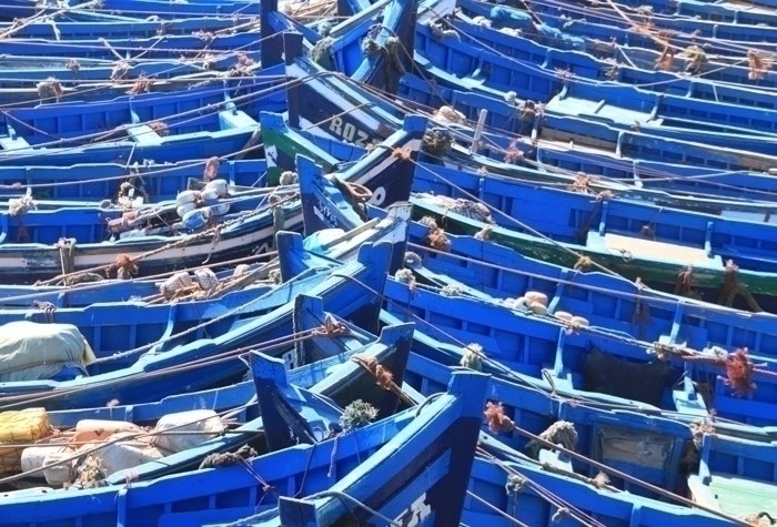 Loved Essaouira, fishing port M - notablenotecards | ello