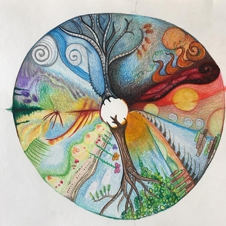 Astro Color Theory: seasons. Pr - dianna   ello