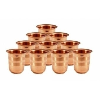 Copper Glasses set – 10 health - indiaethnix | ello