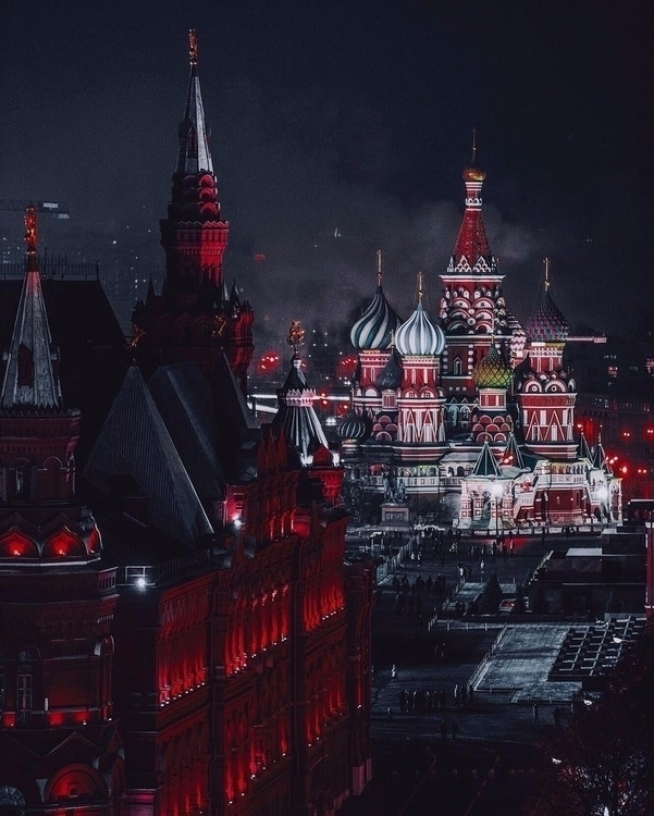 Moscow - timurromanov | ello