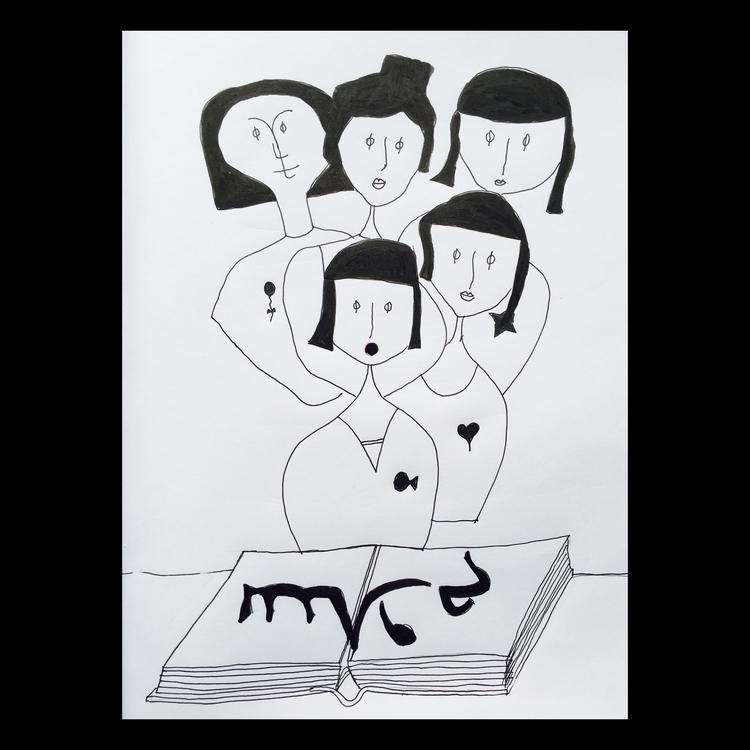 Girls - drawing - saraalmeida | ello