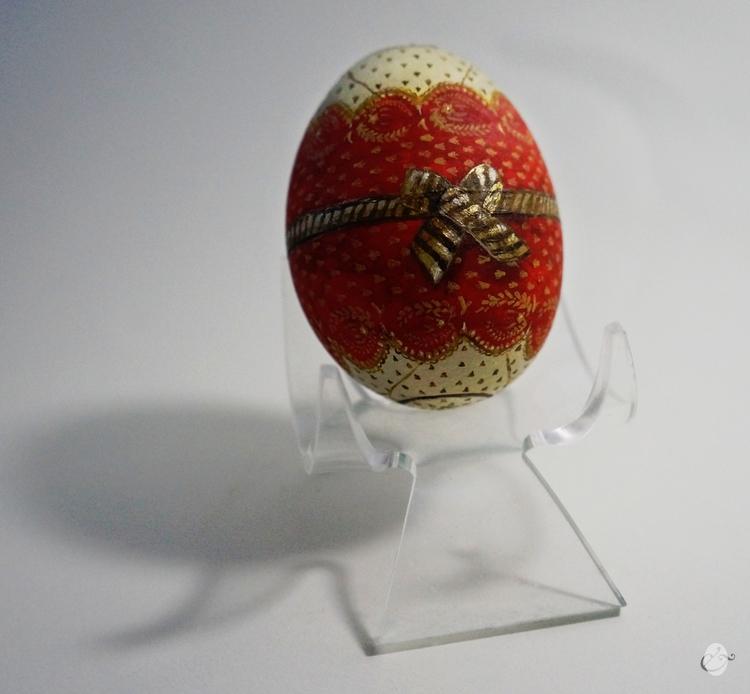 Spain - Eggart, handpainted - kalimne   ello