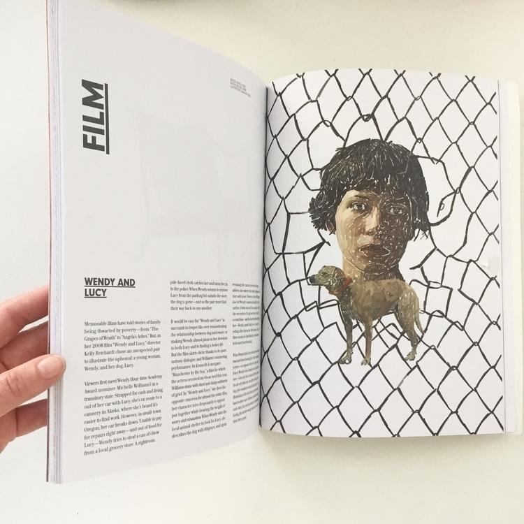 Pumped illustration magazine - awomensthing - carolynfigel | ello