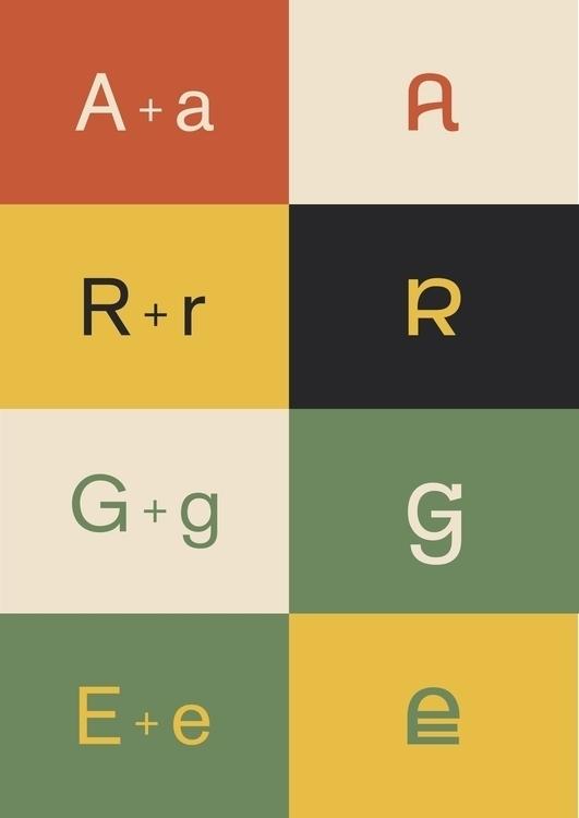 Pablo typeface - typography - odawahl | ello