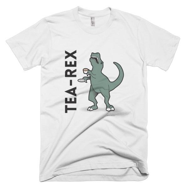 Tea-Rex Tee Shirt - teeshirt, design - calebprue | ello