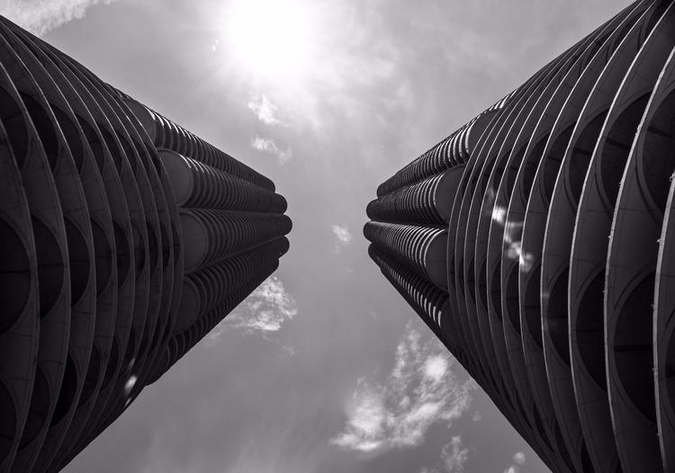 Reaching space, iconic building - junwin | ello
