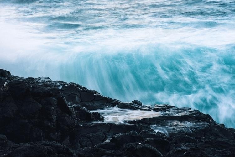 Bath Volcanic Ocean Flow Kauai - neonicecream | ello