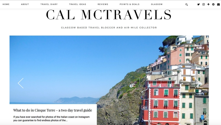 Cinque Terre - day travel guide - calmctravels | ello