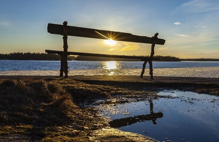 place sun - photography, sunset - anttitassberg | ello