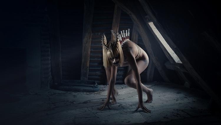 """Monster"" — Photographer:Laure - darkbeautymag | ello"