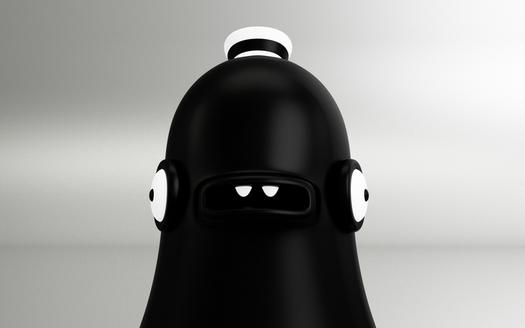 Black Duck Follow  - duck, character - oscarasecas | ello
