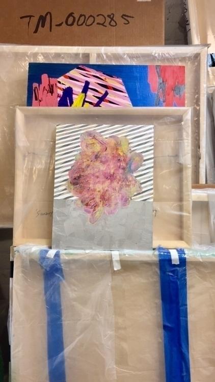 Studio 3.20.17 - art, painting, contemporaryart - timmcfarlaneart | ello