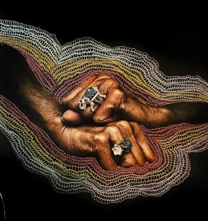 Untitled (#linework metallic pa - arcanememory | ello