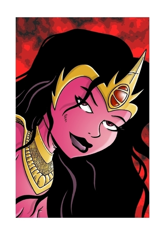 Dejah Thoris Barsoom series sci - dave_windett | ello