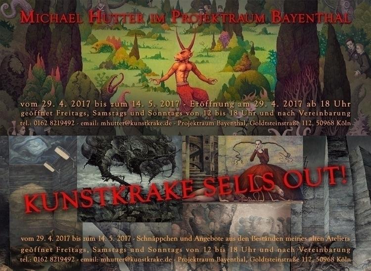 Upcoming exhibition Projektraum - kunstkrake | ello