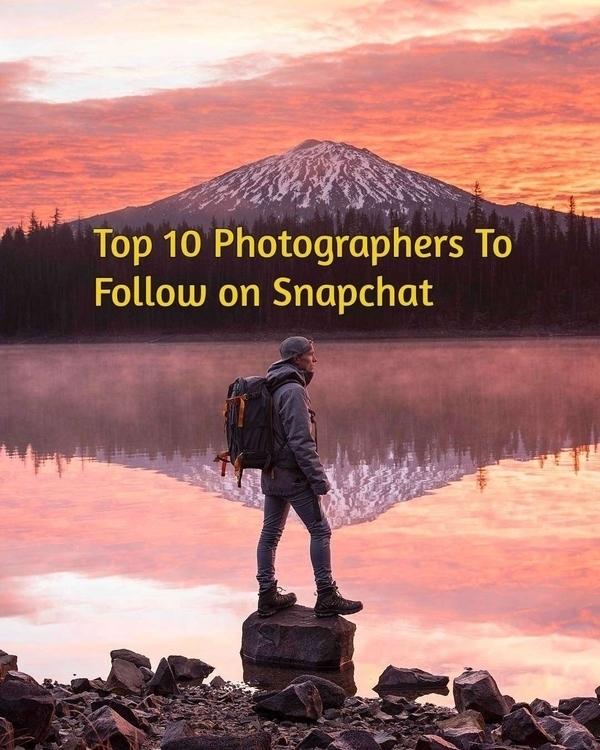 Top 10 Photographers Follow Sna - photogrist | ello