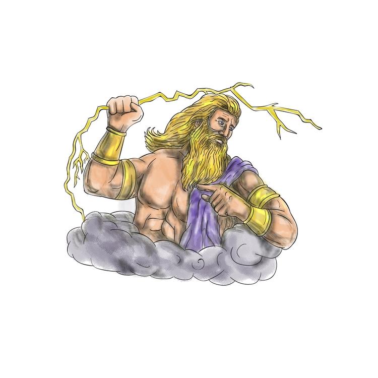 Wielding - Zeus, Thunderbolt, Lightning - patrimonio | ello