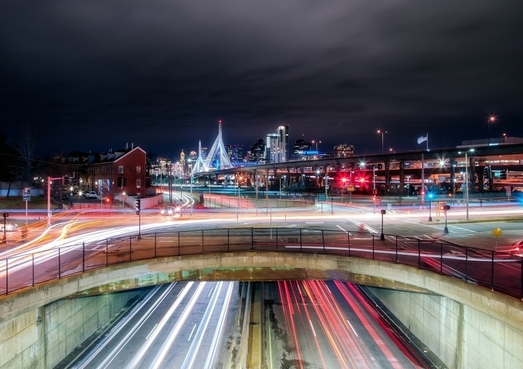 Boston Trails - night, longexposure - joelcorrente | ello