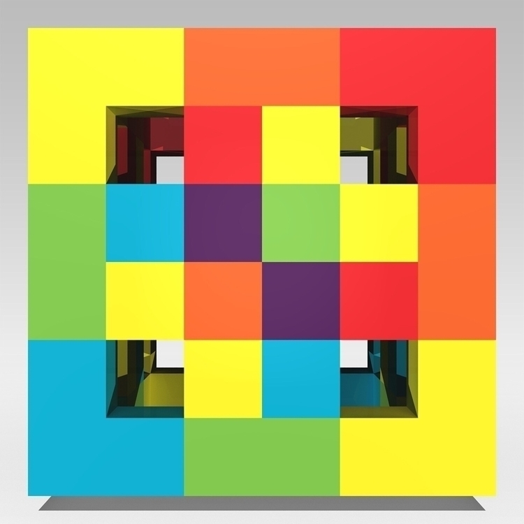 Dapple  - PixelPainting, 3D, Design - andrew_faris | ello