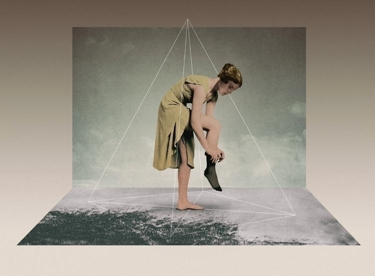 Center Gravity (2017 - collage, digital - julienp | ello
