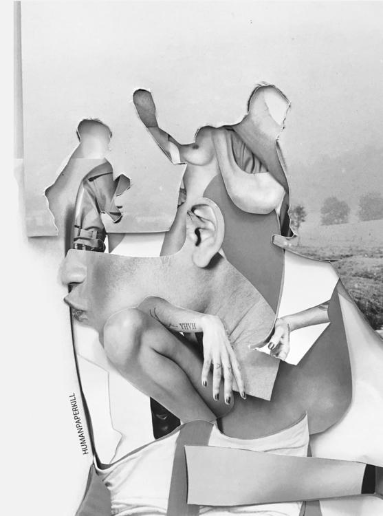 State mind// Handmade collage c - magic_unicorn   ello