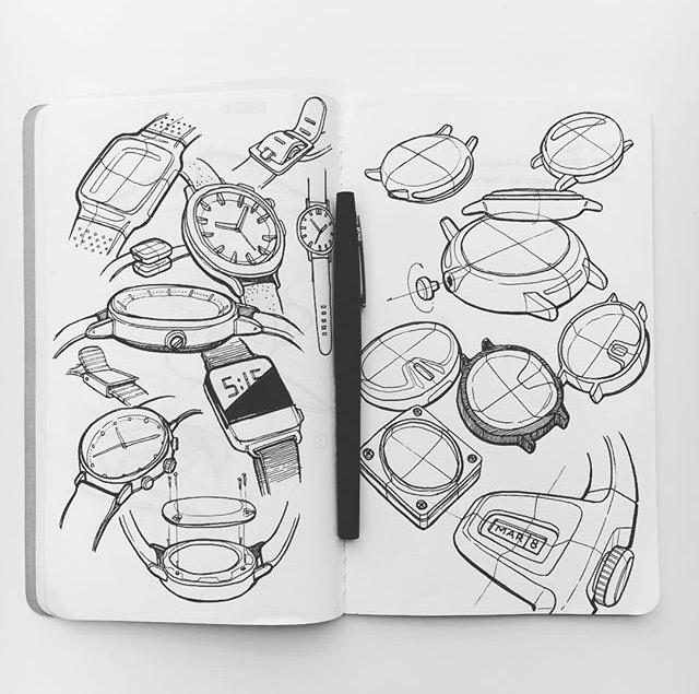 Sketches designer Sam Carr - sketchbook - letsdesigndaily   ello