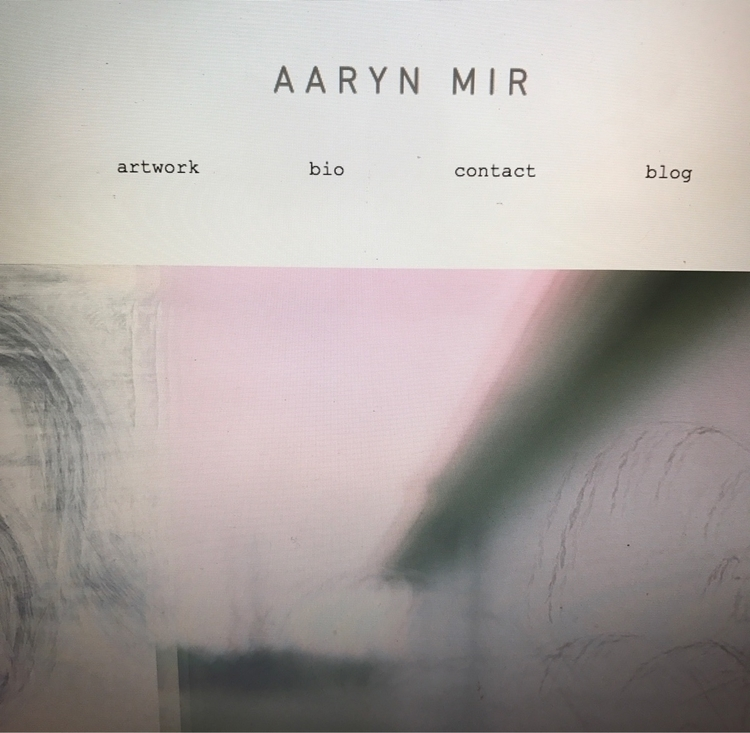 Simplified cleaned website. aar - aarynmir | ello