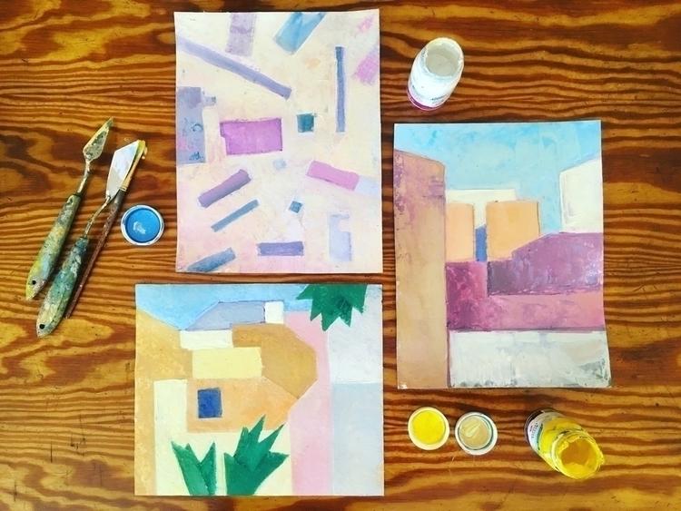 wonderful geometric Cyprus - art - yd_studio | ello