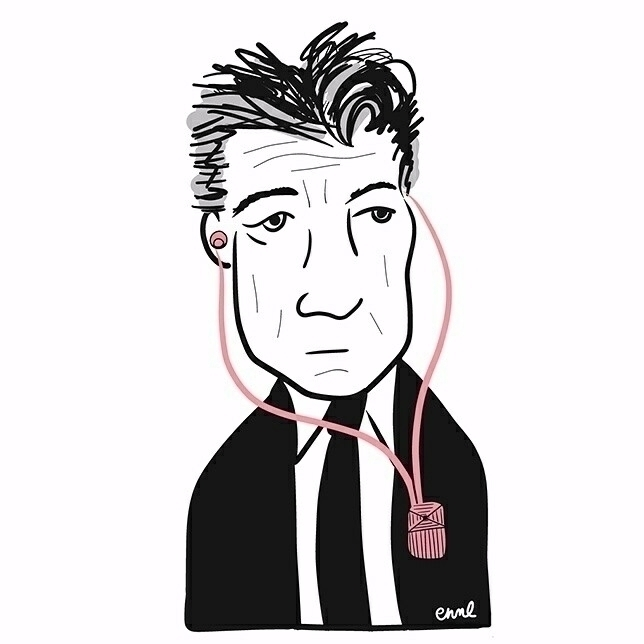 Happy birthday, David Lynch - digitalart - emilynettie | ello