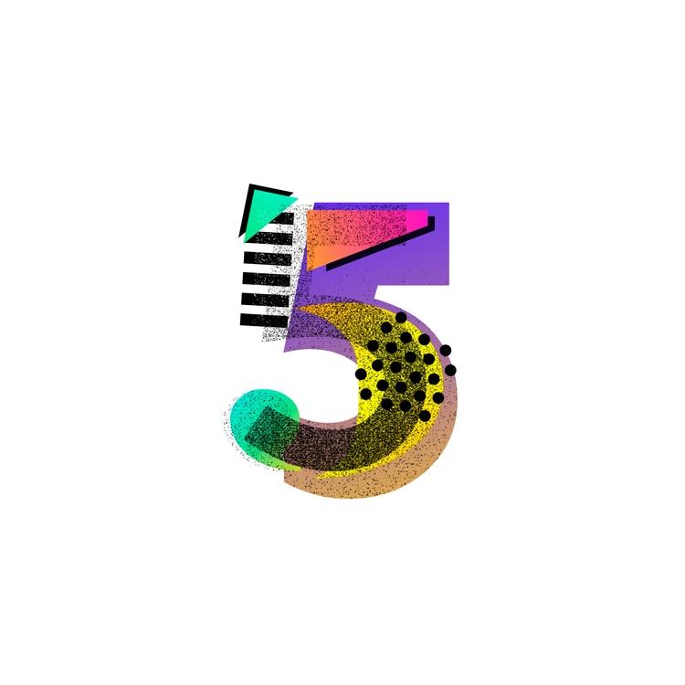 36daysoftype, 36daysoftype_5 - jmelloni | ello
