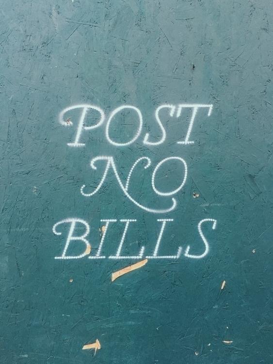 PostNoBills, typography, ny, nyc - blncgvr | ello