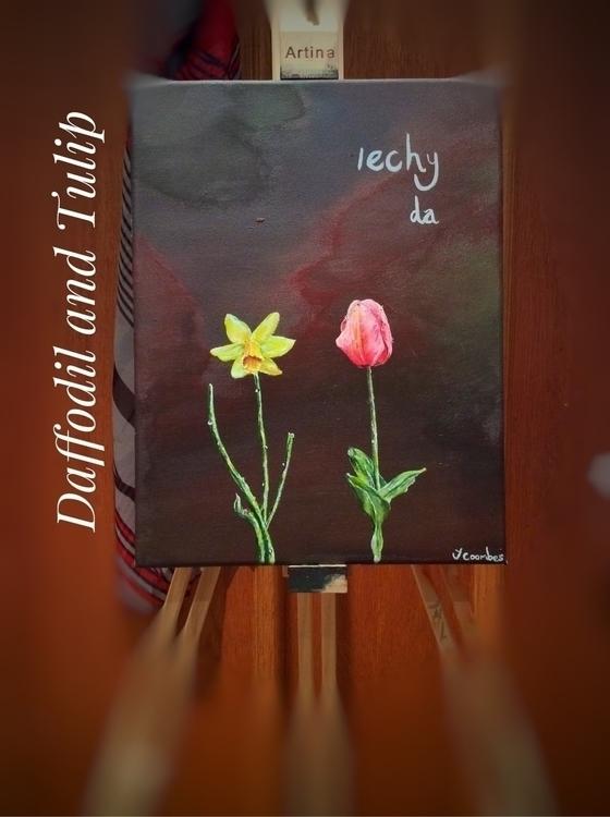 Daffodil Tulip Jack Coombes - jackcoombesart | ello