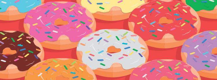 isometric, donuts - renanferreira | ello