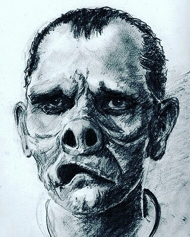 sketch archives- based. 'Eye Be - zombienose | ello
