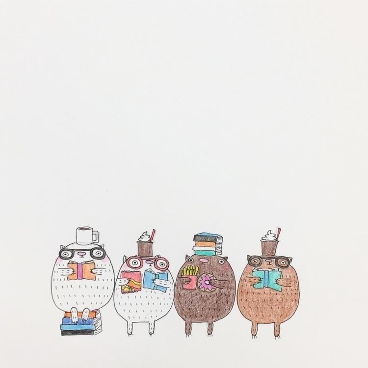 sweet, salty, coffee Murakami b - igimidraws | ello