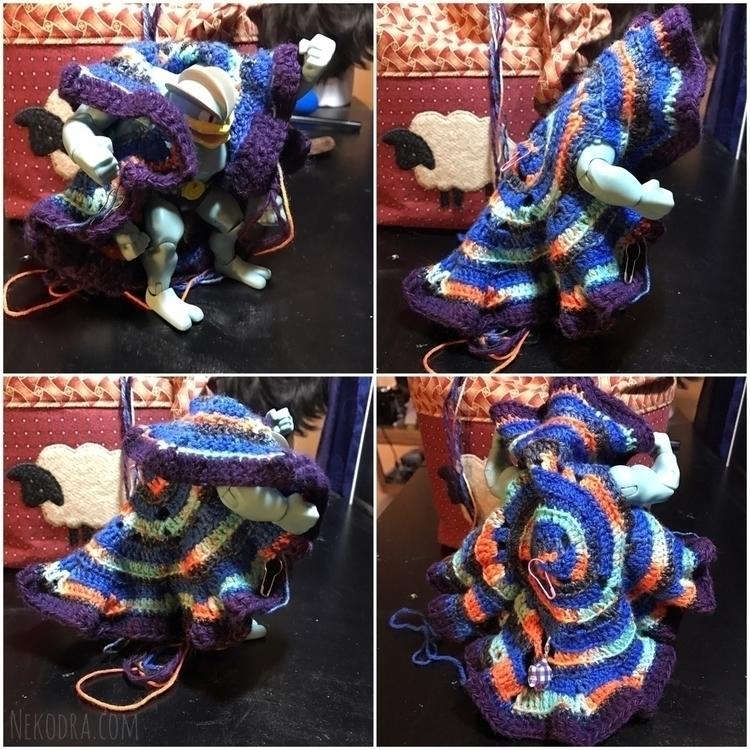 wanting crochet circle jacket s - nekodra | ello