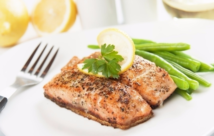 Tasty Baked Salmon Recipe - eatclean - goldenbody_life | ello
