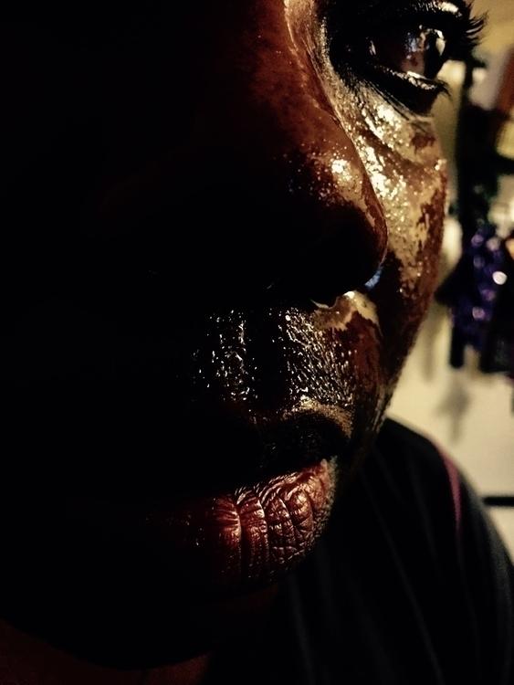 Dark Chocolate Sweat afraid bea - cherylleebowers | ello