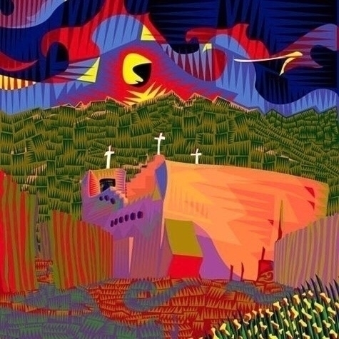 Illustration church mexico - quarternative   ello