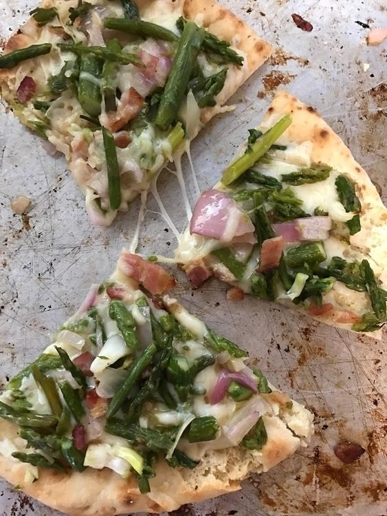PIZZA Wednesday: Asparagus, Bac - katfantastique | ello