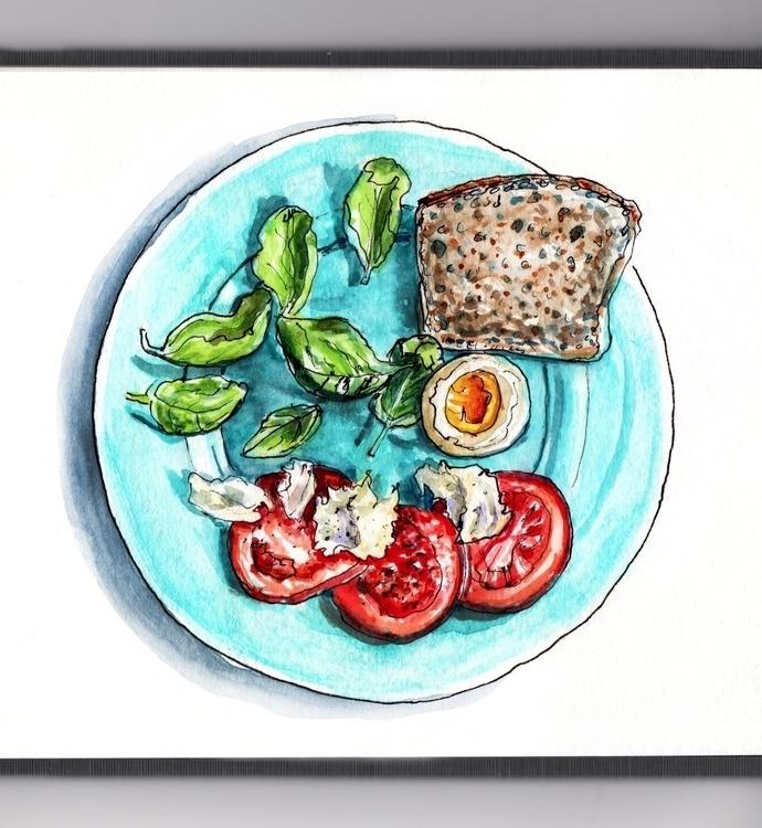 Domestic Transitions - watercolor - doodlewash | ello