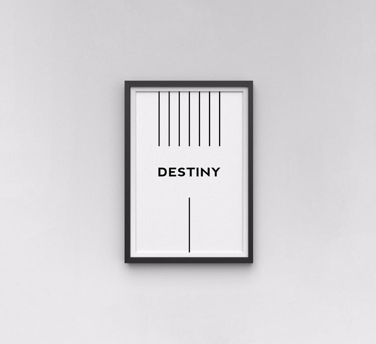 Destiny wall art  - ArtCollectibles - nikolastosic_ | ello