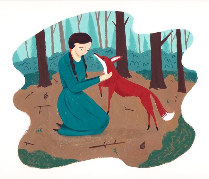 Friend - illustration, gouache, painting - alexander_mostov | ello
