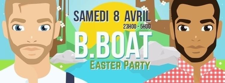 Bboat - Facebook banner, 2017 - lecholito | ello