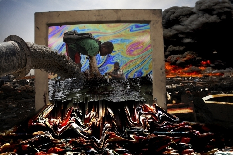 future put - photomontage, collage - displacedreplaced | ello