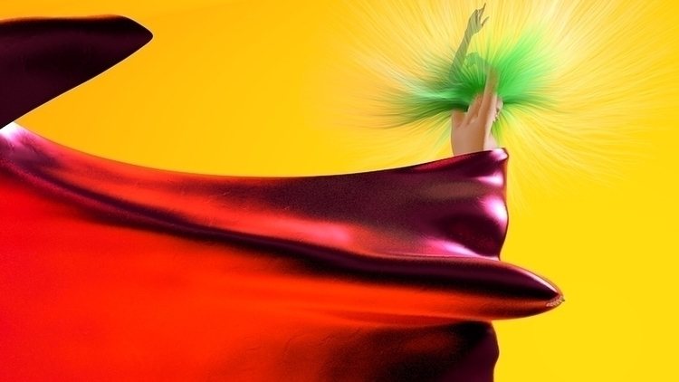 cgi#art#design#graphics#3d#c4d#render#colourful#woman - bambi_kirschner | ello