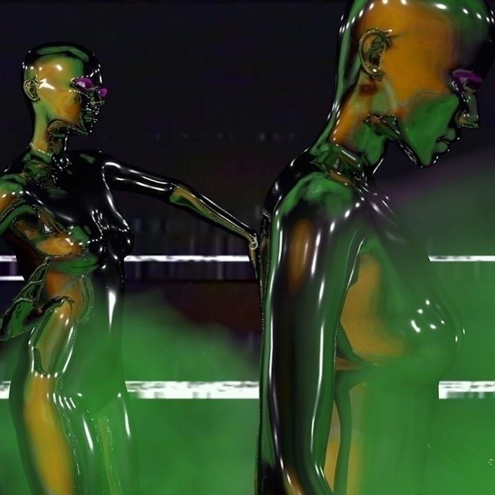 c4d, render#cgi#graphic#design#vaporwave#future#contemporary#girls#3d#3dart#motiongraphics - bambi_kirschner | ello